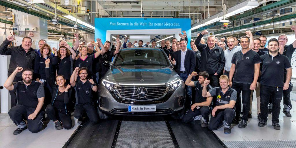 Der mobile Mensch Der vollelektrische EQC - made in Bremen