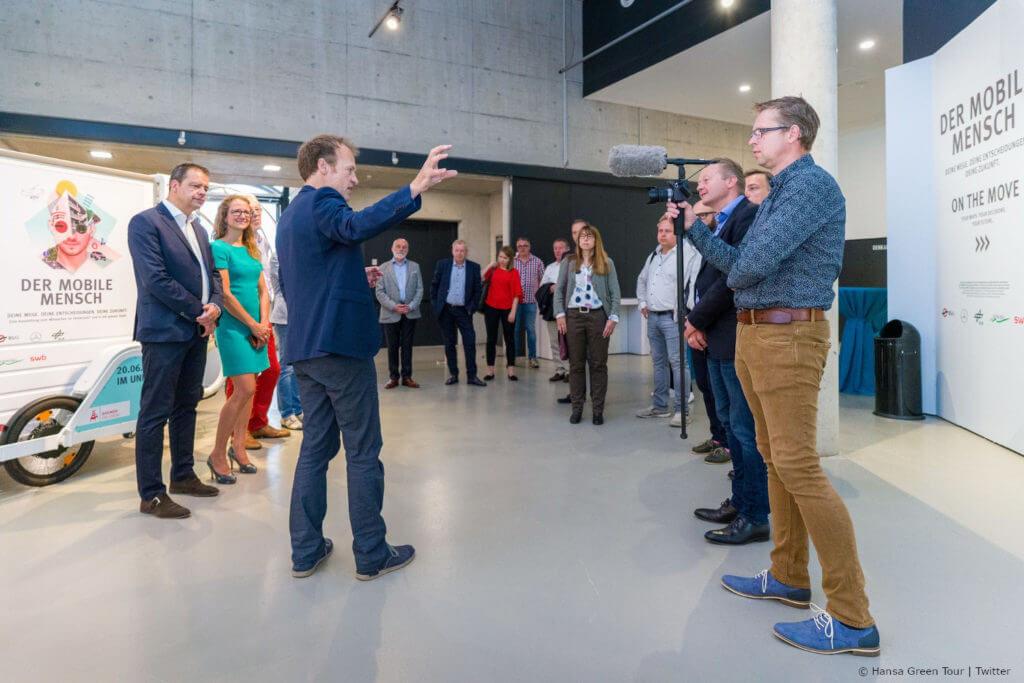 Der mobile Mensch Hanse Green Tour in der Sonderausstellung