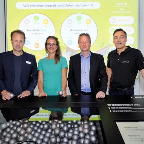 """Der mobile Mensch Nachhaltigkeitsexperten besuchten """"Der mobile Mensch"""""""