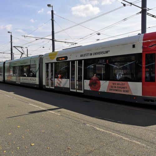 Mit der Straßenbahn ins Universum Bremen