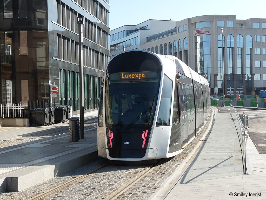 Tram in Luxemburg